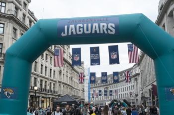 Jacksonville Jaguars - NFL parade in London