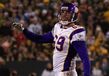 Former Defensive End, Jared Allen