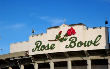 The Rose Bowl in Pasadena, CA