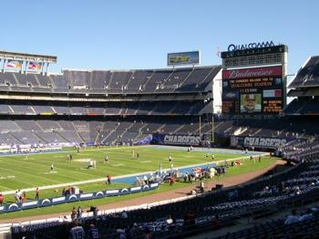 Inside Qualcomm Stadium