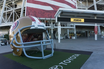 Giant 49ers Helmet