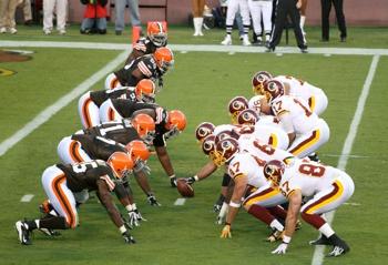 Redskins vs Browns